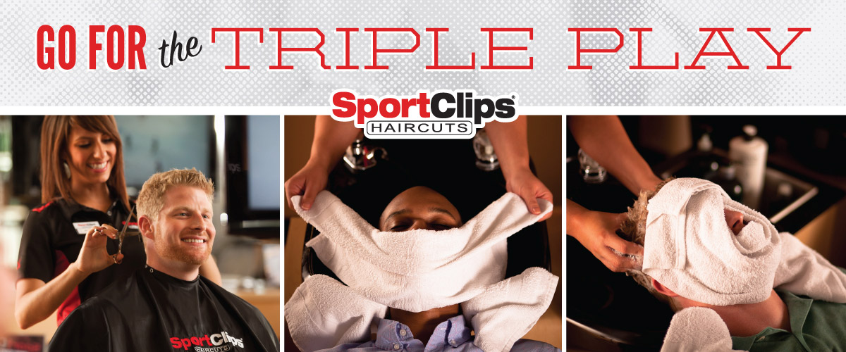 The Sport Clips Haircuts of Mission Valley Triple Play