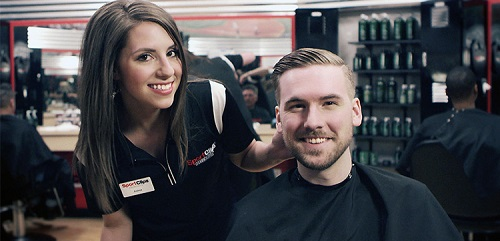 Sport Clips Haircuts of Mission Valley​ stylist hair cut